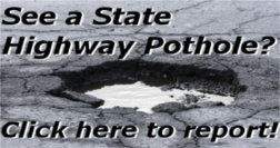 Report a State Highway Pothole